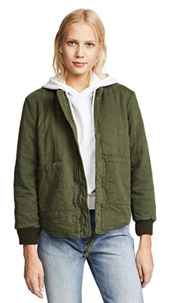 NSF jacket green