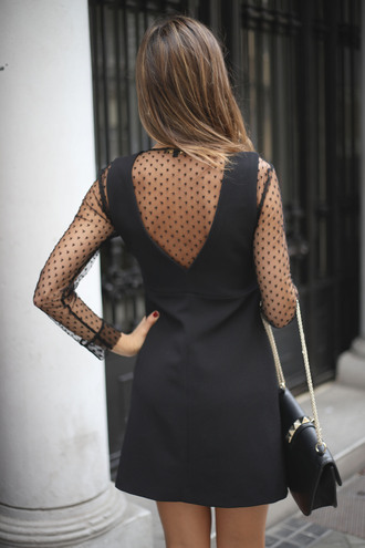 dress tumblr open back open back dresses backless backless dress see through see through dress mesh lace dress black lace dress mini dress bag black bag holiday season holiday dress new year dresses
