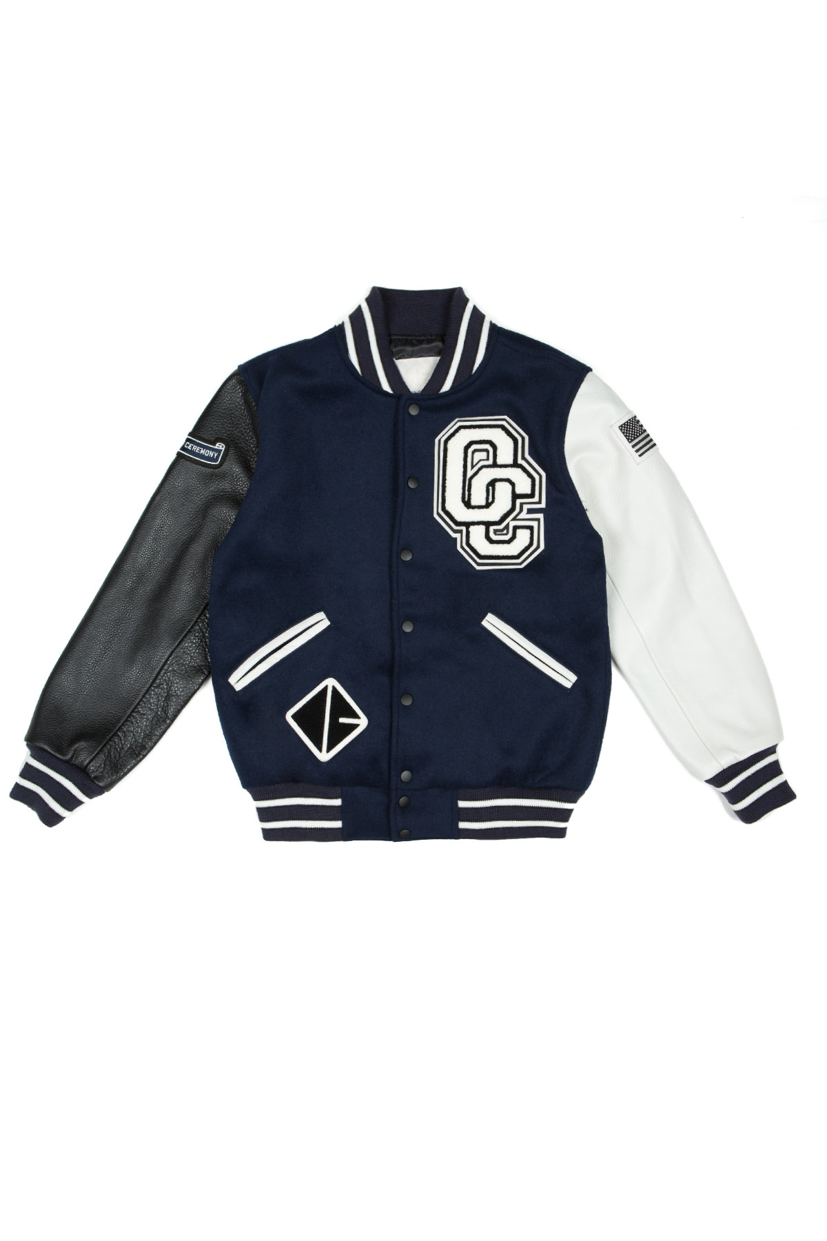OPENING CEREMONY OC EXCLUSIVE VARSITY JACKET - WOMEN - OUTERWEAR - JACKETS - OPENING CEREMONY