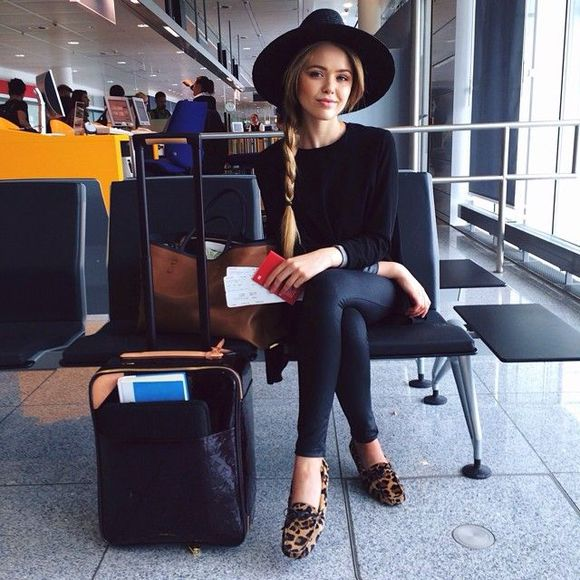 shoes leopard print classy airport travel