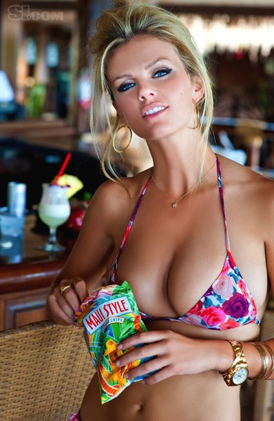 brooklyn decker bikini top floral swimwear swimwear