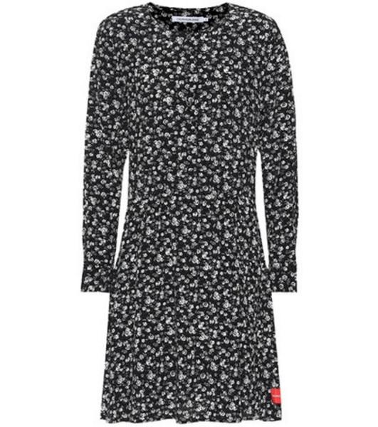 Calvin Klein Jeans Floral dress in black