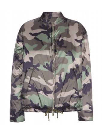 Printed bomber jacket ☼ valentino