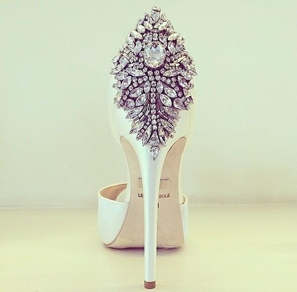shoes high heels sexy heels white heels diamond heels cute cute high heels