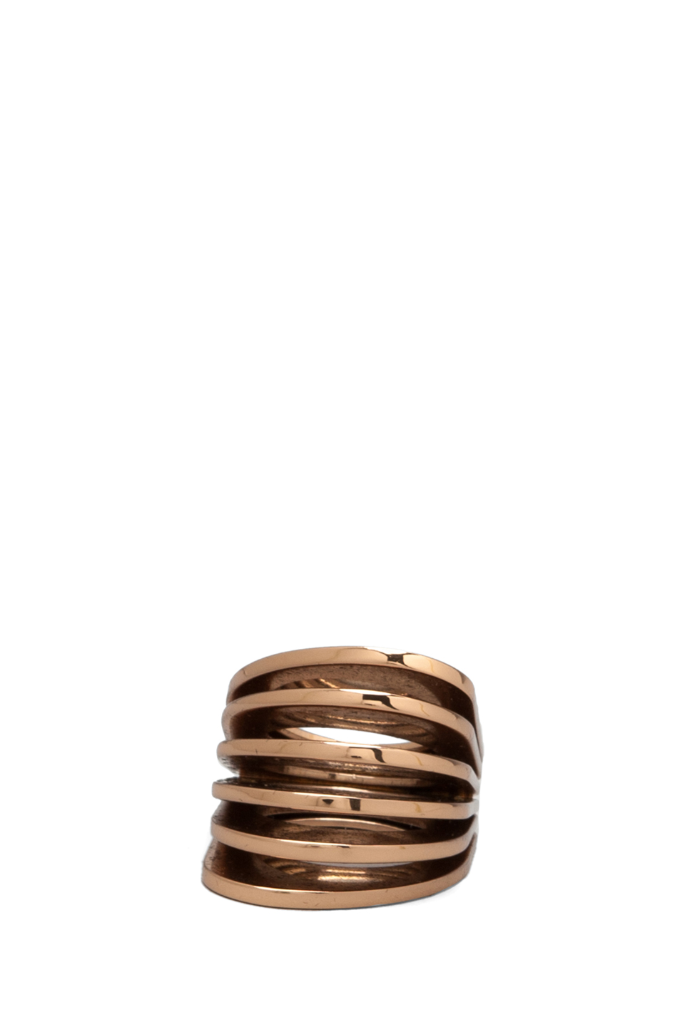 Vita Fede Futturo Ring in Rosegold from REVOLVEclothing.com