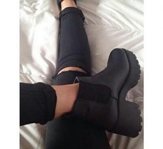 shoes black shoes heels black shoes black heels grunge grunge shoes black grunge shoes