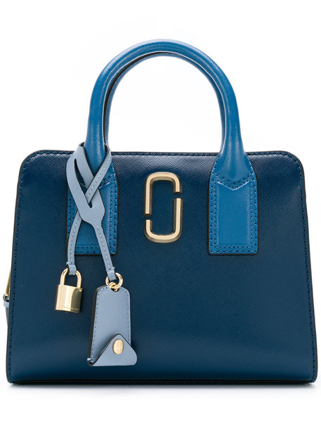 Marc Jacobs women bag shoulder bag leather blue