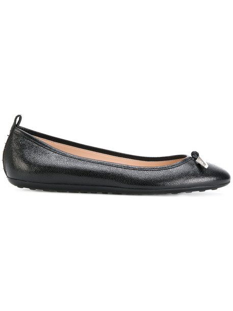 women classic shoes leather black