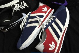 shoes french adidas shoes adidas red blue blue shoes french girl style sneakers white adidas superstars adidas originals trainers colorblock nike cute unisex guys grunge tumblr classy classic adidas 3 stripes logo running trainers women trendy sea of shoes