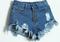High waist distressed denim shorts · fashion struck · online store powered by storenvy
