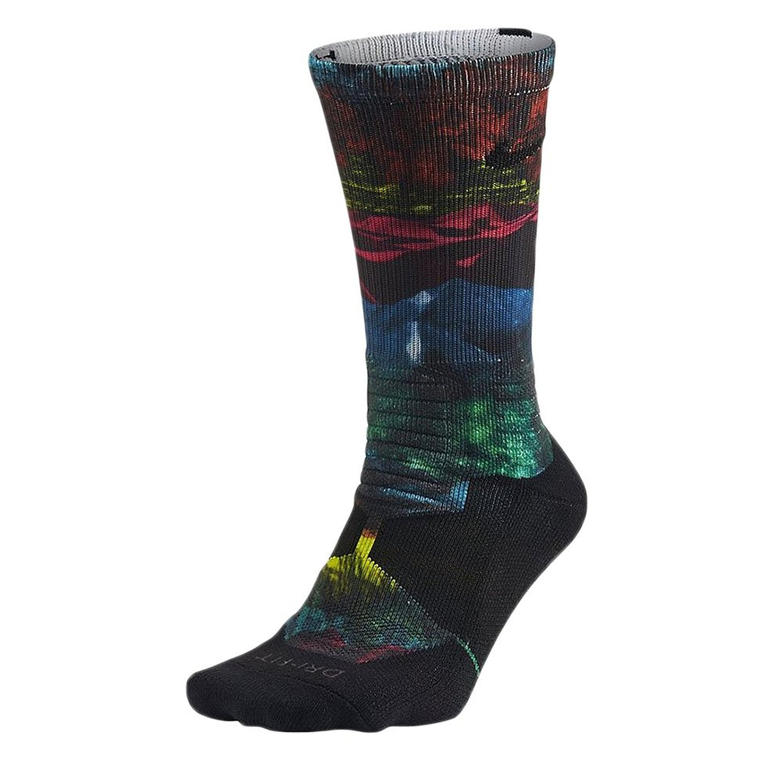Nike Hyper Elite Crew Men's Basketball Socks Multi-Color sx5049-900 (Size M) at Amazon Men's Clothing store: