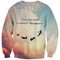 I'm going to neverland sweater