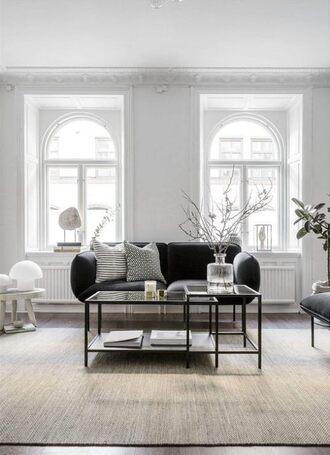 home accessory rug tumblr home decor furniture home furniture living room sofa pillow table grey