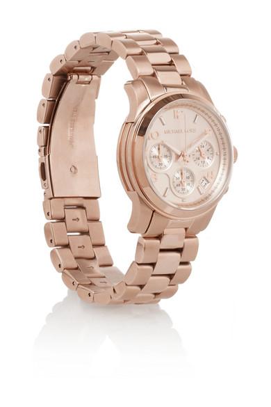 Michael Kors|Stainless steel chronograph watch|NET-A-PORTER.COM