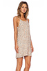 Mlv gina hoop sequin dress in ivory from revolveclothing.com