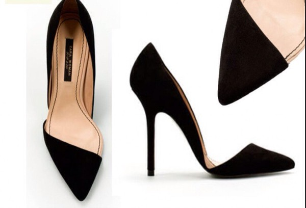 shoes black high heels pumps