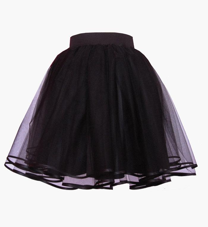 Nina tulle tutu streetstyle celebrity skirt