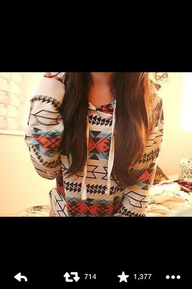colorful fall sweater aztec aztec sweater sweater hoodie design