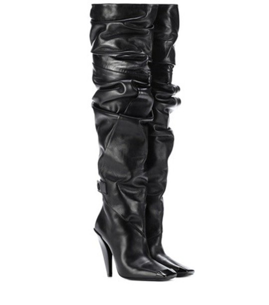 Tom Ford leather boots leather black shoes