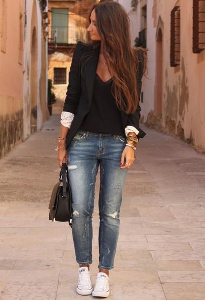 jacket black blazer blazer