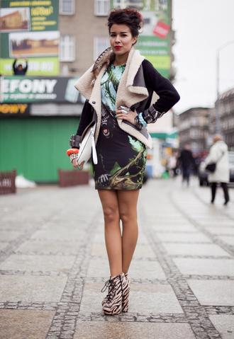 macademian girl bag shoes jewels dress jacket