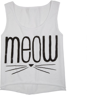 Meow Whiskers Tank - Polyvore