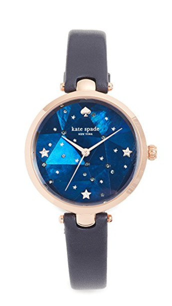 Kate Spade New York watch rose gold rose gold navy jewels
