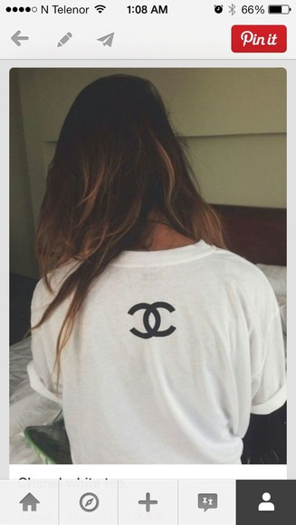 shirt chanel t-shirt chanel white t-shirt