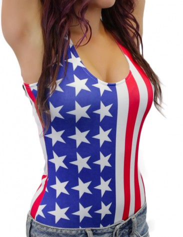 American Flag Bodysuit e62e9e1e4