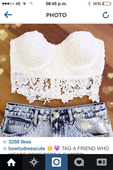 dentelle top white crop tops vintage crop top bustier white crop tops lace lace crop top crochet crochet crop top white lace croptop