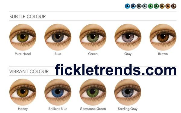 make-up freshlook air optixs eye contact