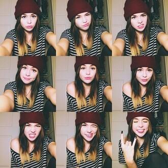 shirt acacia brinley striped shirt hat