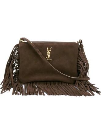 clutch brown bag