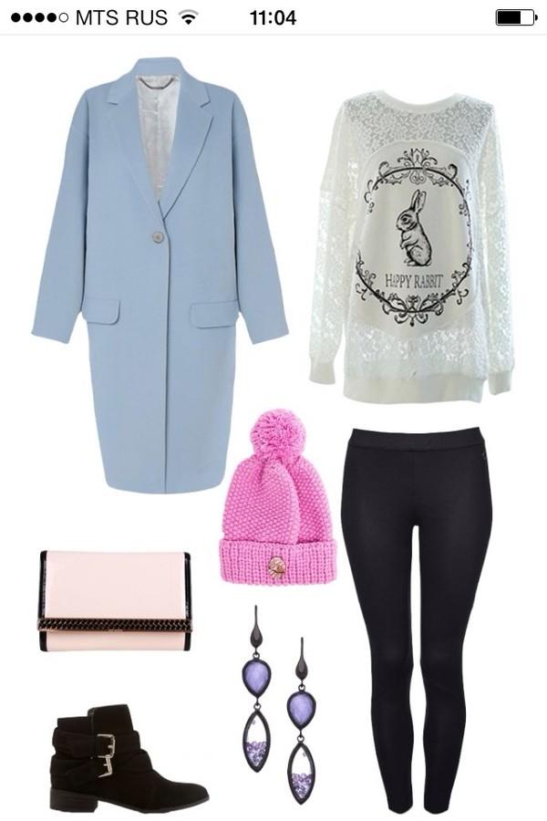 underwear johnlewis lookbook tank top coat shoes bag belt pants sweater