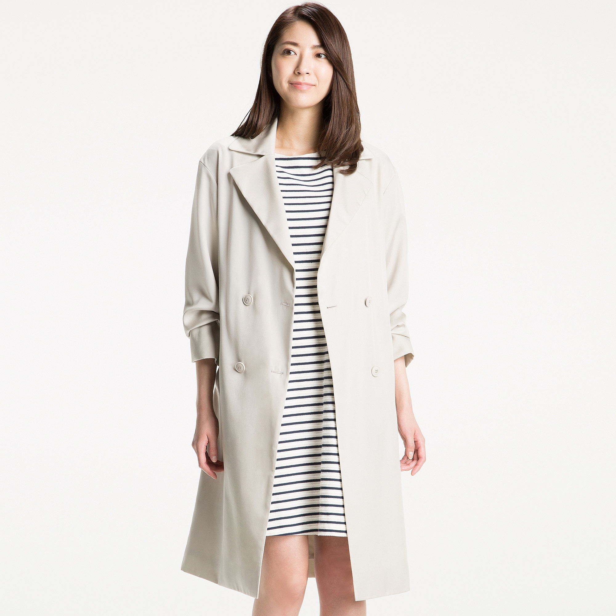 nacy pin black marl muubaa milat drape seisei grey s drapes coat