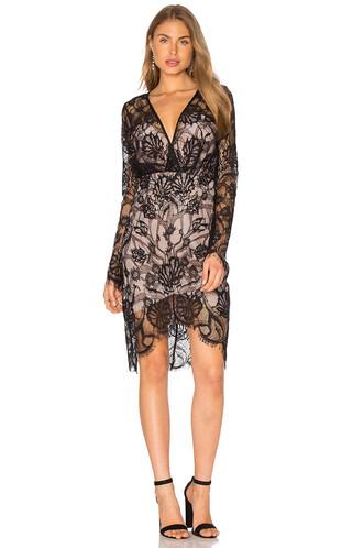dress long sleeve dress long black