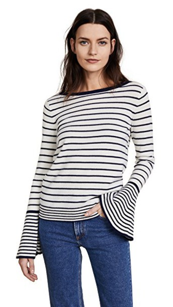 Club Monaco sweater navy white