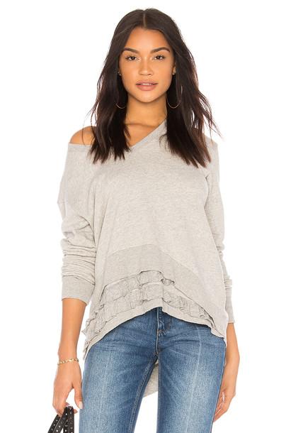 Wilt sweatshirt ruffle sweater