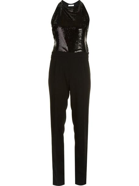MUGLER jumpsuit women black