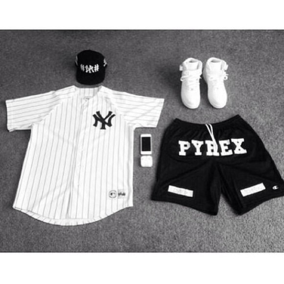 jersey shirt white new york baseball jersey