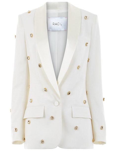 Racil jacket bling white