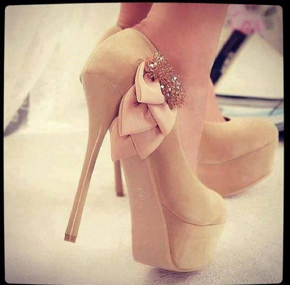 shoes high heels beige shoes beige beige high heels
