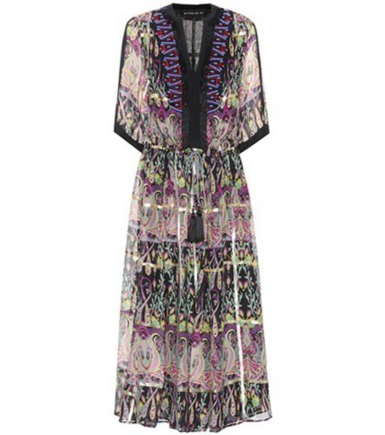 ETRO dress silk