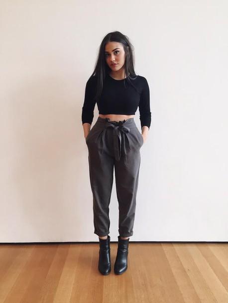 Pants: minimalist, ori...