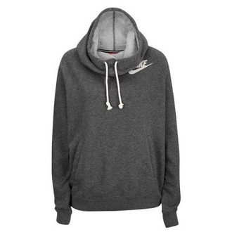 sweater grey charcoal nike sweatshirt