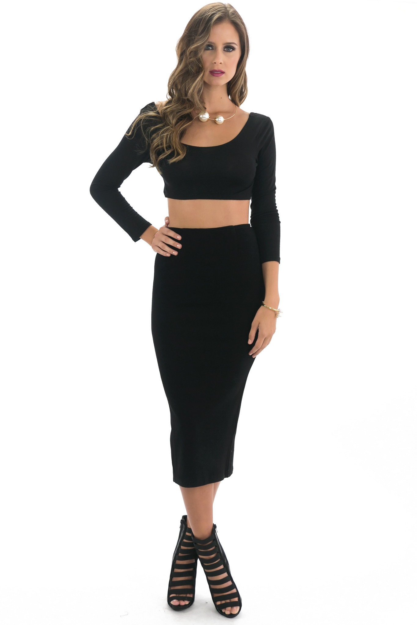 MENA PENCIL SKIRT | Haute & Rebellious