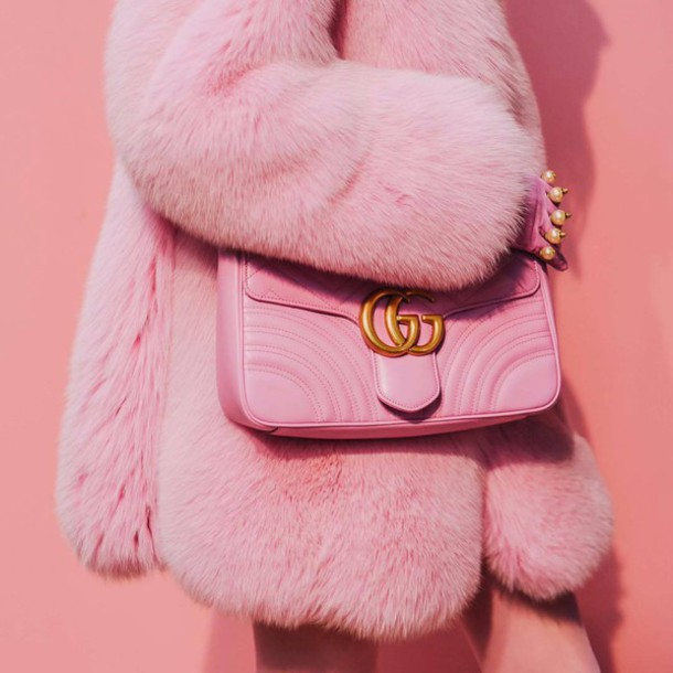 coat tumblr pink coat fur coat all pink everything all pink