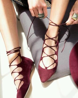 shoes gladiators flats
