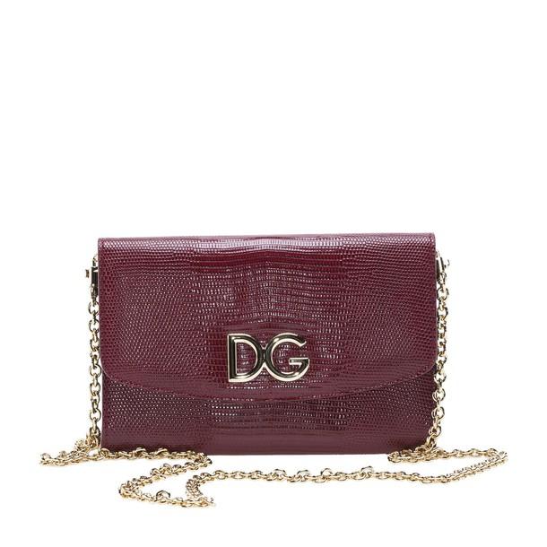 Dolce & Gabbana bag dark dark red red