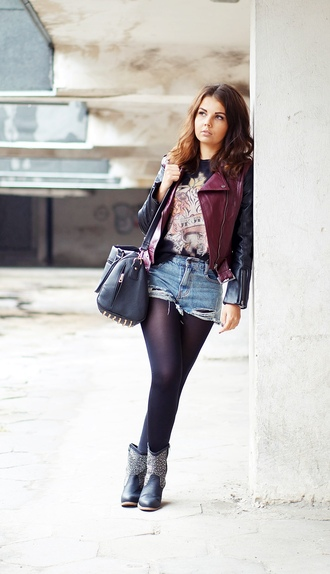 a piece of anna shorts jacket shoes jewels t-shirt
